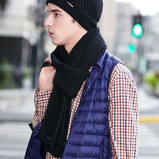 Ribbed Knit Scarf 1035607369
