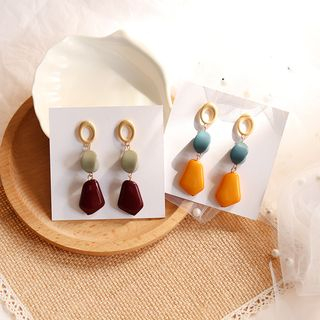 Image of Acrylic Bead Dangle Earring