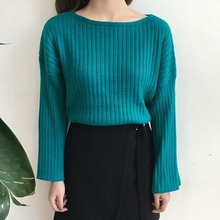 Ribbed Loose Fit Sweater 1054021239