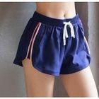 Sports Drawstring Zipped Shorts 1596
