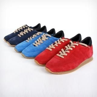 Picture of BoynMen Faux Suede Sneakers 1022078026 (Sneakers, BoynMen Shoes, Korea Shoes, Mens Shoes, Mens Sneakers)