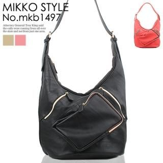 Buy Mikko Zip-Detail Hobo & Shoulder Bag 1022272754