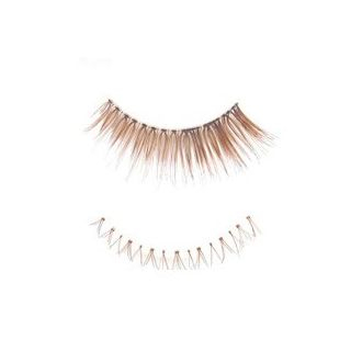 Set: 3 Pairs Upper False Eyelashes + 2 Pairs Lower False Eyelashes (Coffee) 5 pairs 1045871142