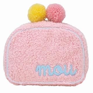 Buy ROOTOTE Pompom Pouch [AVION DE PAPIER - Gloss-B] Pink – One Size 1022649717