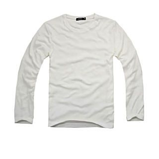 Picture of Justyle Long-Sleeve Crewneck Top 1021498477 (Justyle, Mens Tees, China, Mens Causal Tops)