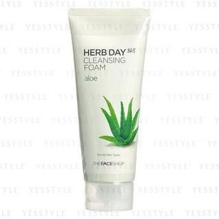 Herb Day Cleansing Cleansing Foam (Aloe) (Hydrating) 170ml
