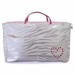 """Buy ROOTOTE [ROO-Carriage] Bag in Bag """"Zebra"""" Silver – One Size 1014451940"""
