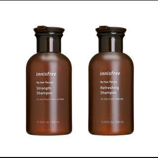 innisfree - My Hair Recipe Shampoo (Scalp Care) (4 Types) 330ml Strength (For Weak Hair Roots) 1061335336