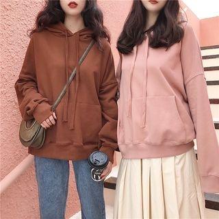 Ribbed Long-Sleeve Sweatshirt 1063125260