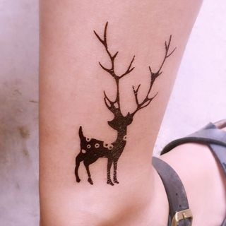 Image of Deer Waterproof Temporary Tattoo