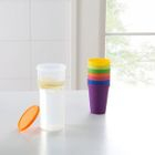 Set of 8: Plastic Cup 1596