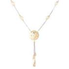 18K White  Yellow Gold Dangling Necklace от YesStyle.com INT