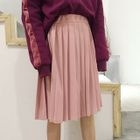Accordion Pleated Skirt 1596