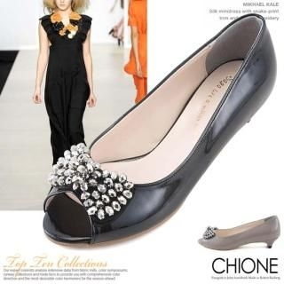 Picture of Chione Open-Toe Pumps 1022567080 (Pump Shoes, Chione Shoes, Korea Shoes, Womens Shoes, Womens Pump Shoes)