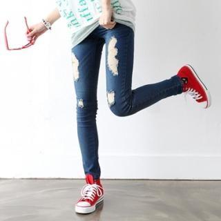 Buy HARU Distressed Skinny Jeans 1022705909