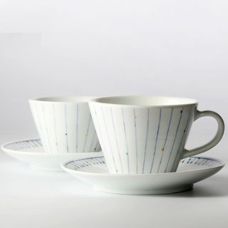 Ceramic Coffee Cup with Saucer 1061388957