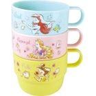 Princess Plastic Cup 3 Pieces Set 1596