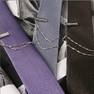 Buy ROSEMAN Set: Neck Tie + Tie Clip 1021372644