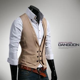 Buy DANGOON Double-Placket Vest 1022505066