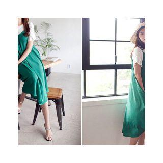 Spaghetti-Strap A-Line Dress 1051156226