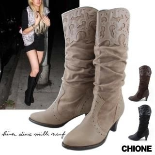 Picture of Chione Knee-High Boots 1021494023 (Boots, Chione Shoes, Korea Shoes, Womens Shoes, Womens Boots)