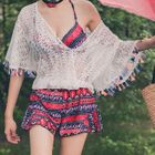 Set: Printed Bikini + Swimskirt + Cover-Up 1596