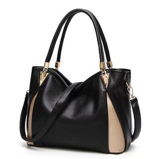 Colour Block Tote Bag 1065503814