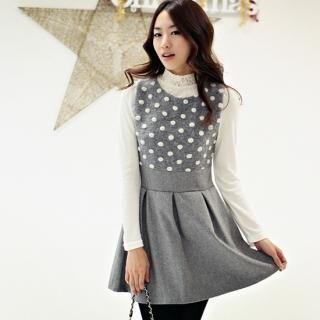 Buy STYLEKELLY Sleeveless Dotted Minidress 1021695677