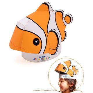 Orange   Model   Party   Fish   Size   Toy   Hat   One   3D