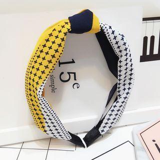 Printed Knot Hair Band 1052667090