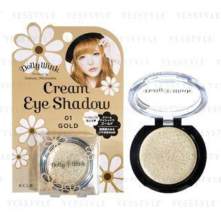 Koji - Dolly Wink Cream Eye Shadow (01 Gold) 1 item
