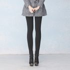 Plain Fleece-Lined Leggings 1596