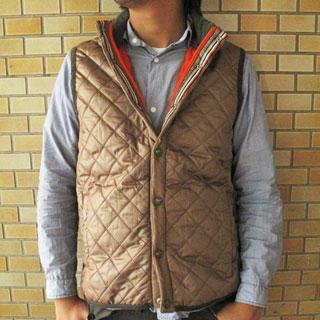 Picture of Lens Concave Funnel-Neck Quilted Vest 1021503655 (Lens Concave, Mens Outerwear, Japan)