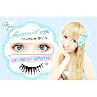 E Heart - E Heart x Eyelash (02 Mermaid) (5 pairs) 5 pairs