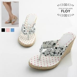 Buy FLOY SHOES Canvas Thong Mules 1023053537