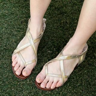 Buy Drama Cross Strap Sandals 1022818934