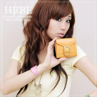 Picture of Hebe Buckle-Detail Wallet 1020431952 (Hebe, Wallets, Taiwan Bags, Womens Bags, Womens Wallets)