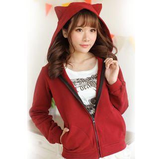 Cat Ear Zip Hoodie 1050525390