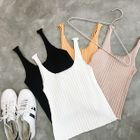 Ribbed Knit Tank Top 1596