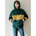 Hooded Color-Block Sweatshirt 1596
