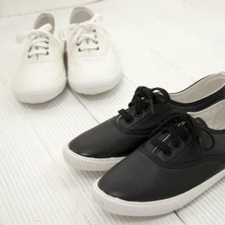 Picture of Cookie 7 Faux-Leather Sneakers 1022185276 (Sneakers, Cookie 7 Shoes, Korea Shoes, Womens Shoes, Womens Sneakers)