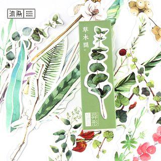 Image of Set of 30: Plant Motif Bookmarks