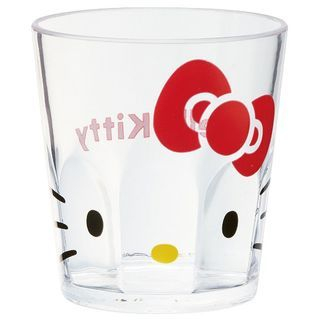 Hello Kitty Clear Plastic Cup (Hello Kitty Face) 1061091714
