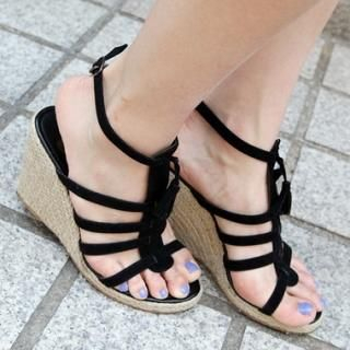 Picture of Drama Wedge Sandals 1022840637 (Sandals, Drama Shoes, Korea Shoes, Womens Shoes, Womens Sandals)