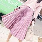 Accordion Pleat Skirt 1596