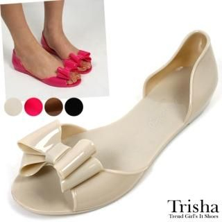 Buy Trisha Bow-Accent Jelly Sandals 1022458413