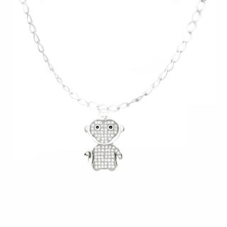 12 Zodiac Collection - Happy Monkey With Bracelet Happy Monkey - One Size