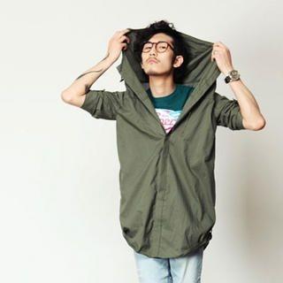Buy SLOWBABA Oversized Shirt 1022876896
