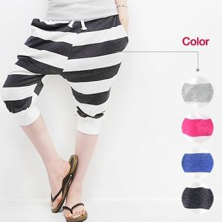 Picture of Beccgirl Striped Baggy Sweatpants 1022960454 (Womens Baggy Pants, Womens Sweatpants, Beccgirl Pants, South Korea Pants)