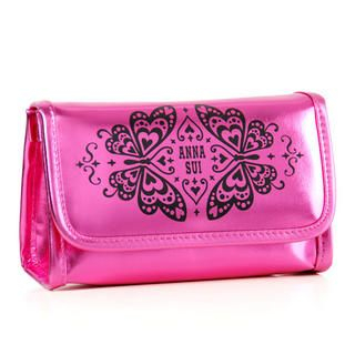 Buy Anna Sui – Pink Deluxe Pouch with Mirror 1 pc